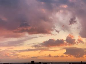 Livorno tramonto 26 febbraio 2020