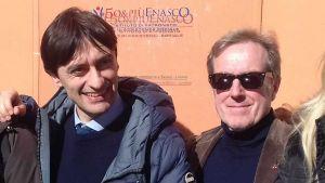 Potenti (Lega) e Gianmarco Mancini