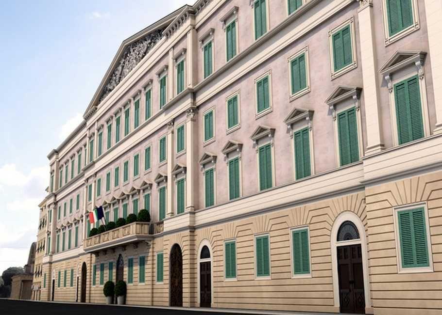 Tribunale Livorno - Rendering