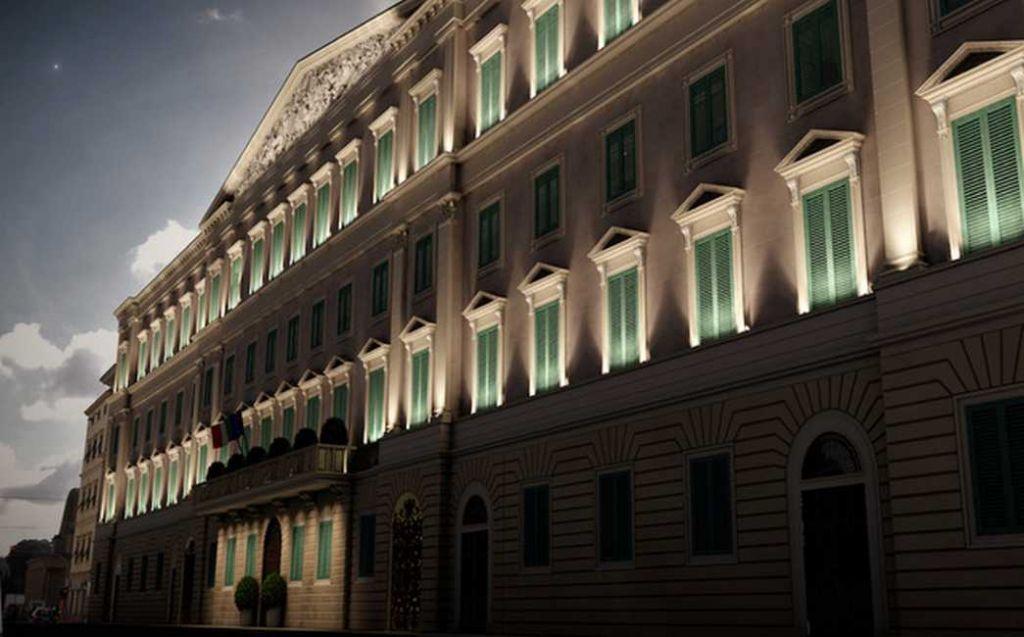 Tribunale Livorno - Rendering (notturna)