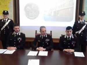 cs carabinieri arresto per furto