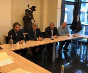 trasporto pubblico riunione nella sede Cispel
