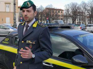 Tenente GdF Francesco Demtetrio Crea, Comandante Baschi Verdi Livorno