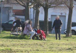 gente al parco