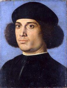 Andrea_Previtali_called_Cordeliaghi_-_Portrait_of_a_Man_memento_mori