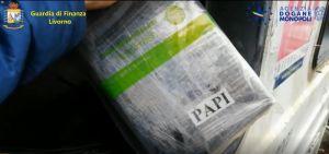 Livorno, sequestrati in porto 40 chili di cocaina del valore di 6,4milioni (Video)