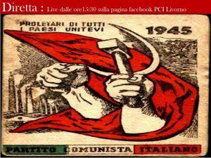 PCI Livorno diretta live Facebook 1 maggio