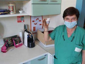Torrefazione regala caffè ai sanitari dell'ospedale di Livorno (2)
