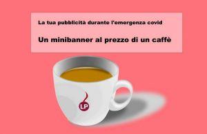 minibanner al prezzo di un caffè