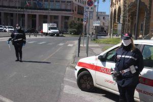 polizia municipale controlli covid