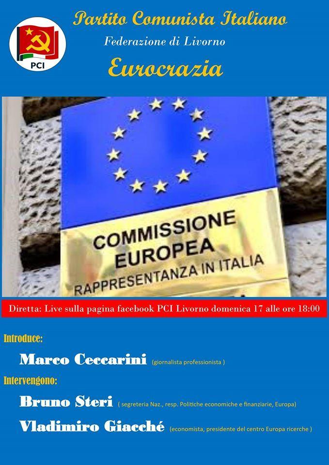 Volantino Eurocrazia