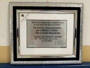 """""""Saporite Attenzioni"""", il pronto soccorso ringrazia pizzeria per due mesi di """"donazioni"""" (Foto)"""