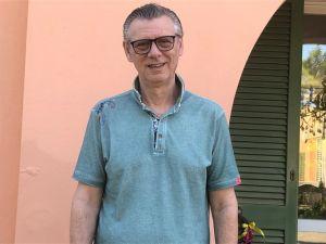 Elio Parietti, presidente del Basket Cecina