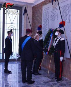 I carabinieri festeggiano il 206° anniversario della fondazione dell'Arma