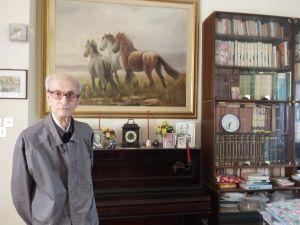 Manlio Menghi compie 100 anni. Ha insegnato fisica all'Istituto Cappellini per 23 anni