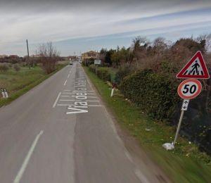 Via della Valle Benedetta Foto Google Streetview