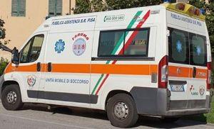 ambulanza pubblica assistenza pisa