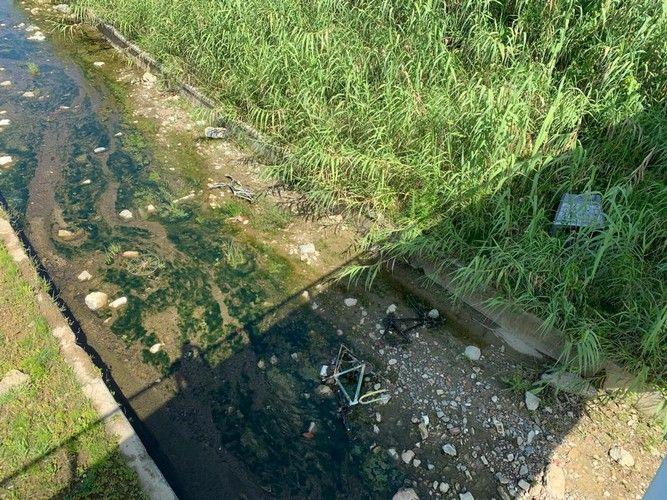 bici e monitor nel rio maggiore