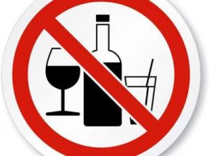 divieto di bere