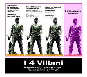 i 4 villani