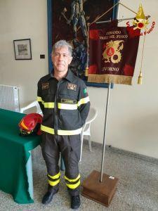 nuovo Comandante Provinciale dei vigili del fuoco Ugo D'Anna