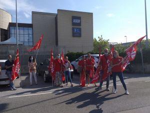 sciopero lavoratori cup tel