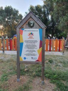 Il Parco Levante dona area giochi al Parco del Mulino