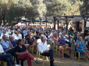 Italia Viva Livorno Matteo Renzi al parco del Mulino