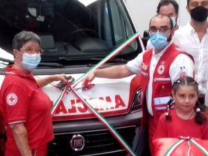 La Croce Rossa Livorno inaugura una nuova ambulanza