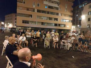 Piazza Cavallotti, residenti e commercianti incontrano Salvetti