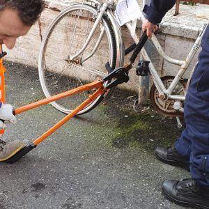 rimozione biciclette