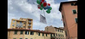 I cittadini festeggiano assieme al consigliere comunale Romiti