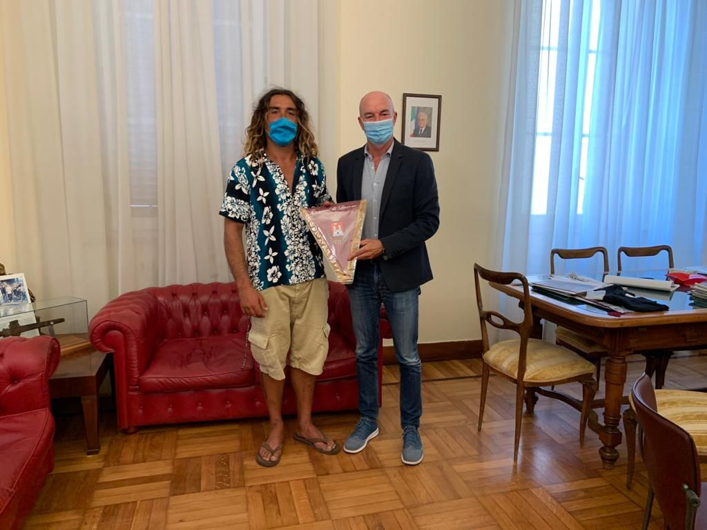 Jorma Cosci e il sindaco