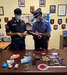 Occupava abitazione in Via Garibaldi per spacciare e tenere droga arrestato dai Carabinieri