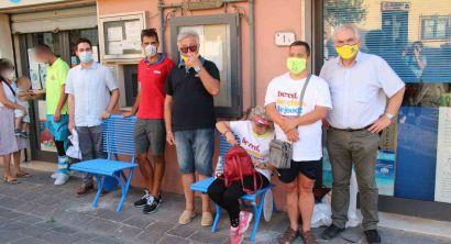 Panchine inclusive, continua l'installazione nel Comune di Rosignano (Foto) (3)