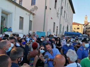 Piombino, Matteo Salvini e la Boiata del bonus vacanze per rilanciare il turismo