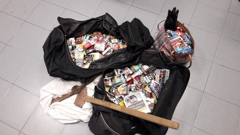 Quercianella Sventato furto alla tabaccheria, arrestata ladra