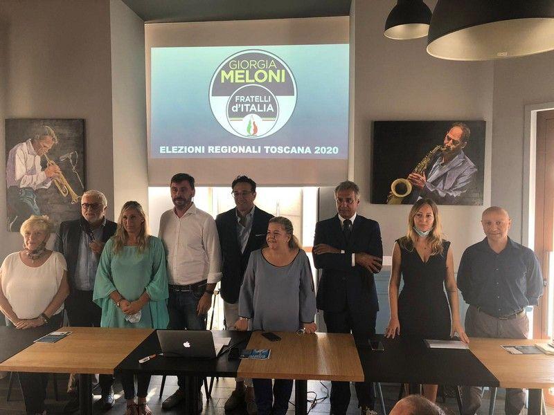Regionali FdI presenta i candidati, tra i nomi Marcella Amadio e Andrea Romiti