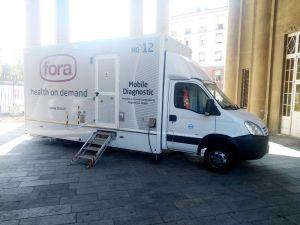 Screening mammografico, a Livorno l'unità mobile che garantisce 200 esami in più ogni settimana