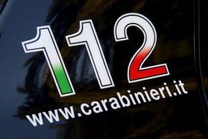 112 carabinieri logo auto