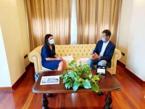 Breda incontra il ministro Paola De Micheli Novità per corridoio tirrenico e Darsena Europa