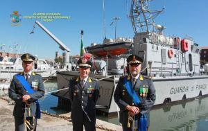 Guardia di Finanza cambio al vertice del comando del R.O.A.N di Livorno