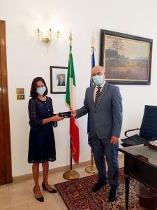 Il Prefetto incontra Ragini Gupta, il nuovo console generale americano a Firenze
