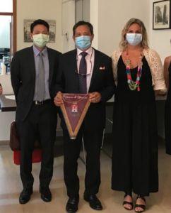 L'Ambasciatore di Taiwan Andrea S.Y.Lee incontra l'assessore Bonciani