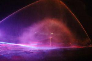 Mascagni Festival, i giochi di luce alla Terrazza e sul viale Italia