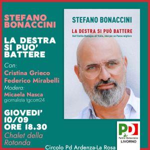 Regionali Bonaccinipresenta il suo libro La destra si può battere