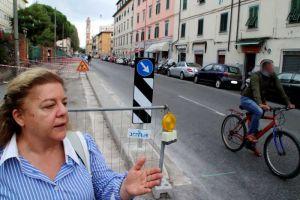 Via Galilei, Amadio (FdI) Questa pista ciclabile non s'ha da fare. Parte la raccolta firme