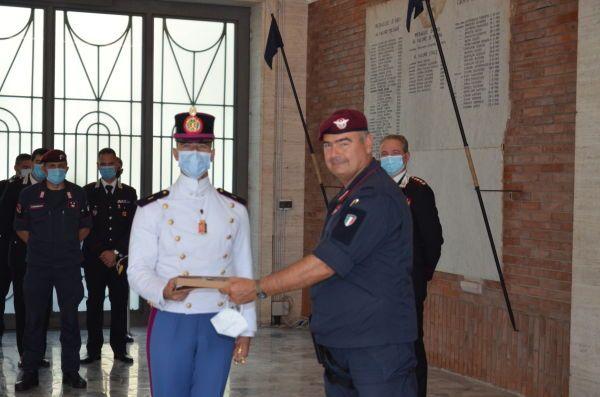 carabinieri cadetti in visita a livorno