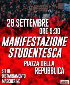 Sicurezza e diritto allo studio, domani studenti in piazza