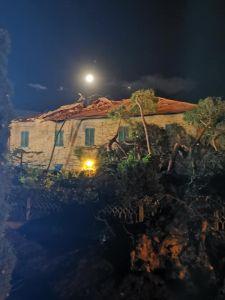 tromba d'aria a Rosignano, il sindaco Donati gli aggiornamenti sulla situazione